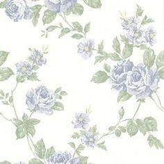 Brewster Home Fashions La Belle Maison Bloom Floral Trail Wallpaper