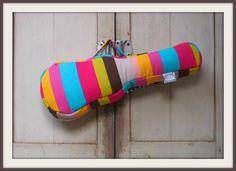 Concert ukulele case Colorful Pop Colorful Stripe by cherijame