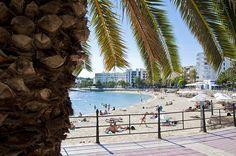 Ibiza beach of the week: Santa Eulalia | The White Ibiza beach guide http://www.white-ibiza.com/ibiza-beaches