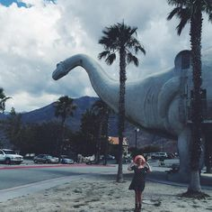 Cabazon Dinosaurs, off of Interstate 10 in California