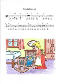 Spi, děťátko, spi Spy, Piano, Pianos
