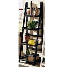 Black Ladder Shelving