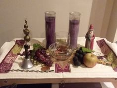 My Xmas Altar for Dionysus my father god ♡ It makes me so happy Wiccan, Witchcraft, Witch Face, Dionysus, Altar, Worship, Father, Xmas, Paganism