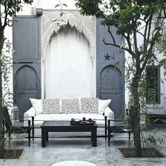 With just five rooms, Dar Kawa, in a renovated 17th-century townhouse that once served as a spiritual retreat, is as energetic a respite as it is aesthetic. Belgian textile designer Valerie Barkowski took a spare approach to her riad's redesign, peppering a largely tri-chromatic space of grays, whites, and beiges with just enough Moroccan flair to give the place context (though the hand-printed textiles are, naturally, her own). Here, the original architecture—arched doorways, false…