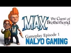 MAX: THE CURSE OF BROTHERHOOD, PS4 Gameplay Episode 1.