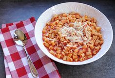 Frugal Foodie Mama: Mom's Italian Pasta Fagioli Recipe from love, laurie {& an Ad Space Giveaway!}