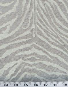 Zebra Platinum | Online Discount Drapery Fabrics and Upholstery Fabric Superstore!