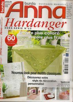cindy valentine hardanger | Anna Hardanger Hors-série No.13 Encore plus coloré encore plus frais ...