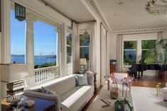 The Amazing Locksley Hall in Belvedere Asks $49M   California Home + Design