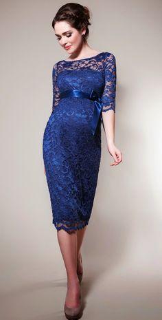 Excelentes alternativas de vestidos de fiesta para embarazadas  c25f201dc812
