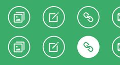 SIMPLE ICON HOVER EFFECTS A set of simple round icon hover effects with CSS transitions and animations for your inspiration by Codrops