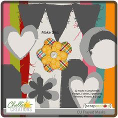 "Chelle's Creations Digital Scrapbooking Blog |Turn your paper into ""fabric."""