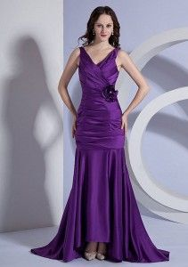 cheap purple prom dresses