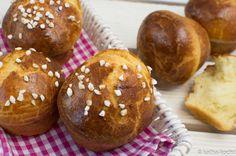 Brioche Muffins mit Hagelzucker