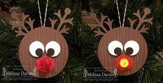 Reindeer Tea light - already scouting for next year's tea light craft
