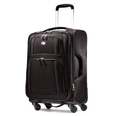 Luggage Tags Collections | American Tourister Luggage Ilite Supreme 29 Inch Spinner Suitcase Black 29 Inch *** You can get more details by clicking on the image.(It is Amazon affiliate link) #tagblender