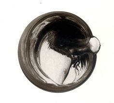 Ink bubble drawings by Roland Flexner