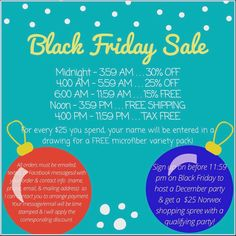 Adrianne's Norwex Black Friday Sale! Email me your order before 11:59 PM on 11/25/16 to save money & knock out your Christmas shopping list! (adriannecleans@yahoo.com)