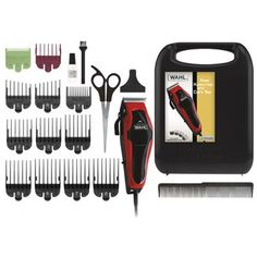Wahl Clipper Clip 'n Trim 2 In 1 Hair Cutting Clipper/Trimmer Kit with Self Sharpening Blades *** You can get more details by clicking on the image. (This is an affiliate link) Cut Hair At Home, Ear Tapers, Hair Clippers & Trimmers, Clips, Kit, Professional Hairstyles, All In One, Cool Things To Buy, Hair Cuts