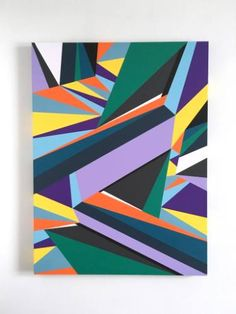 """Saatchi arte artista Liz Mares; Pintura, """"Cuando el pavo real se reúne la…"""