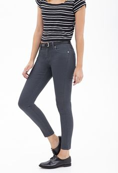 Classic Denim Skinny Jeans - Women - Bottoms - Jeans - 2000060176 - Forever 21 EU English