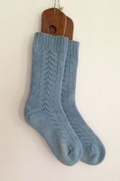 """(Photo: Little Church Knits) A lovely and challenging pattern for the motivated sock knitter this week from Little Church Knits! From the designer: """"Inspired by early American quilts, Barn Swallow ..."""