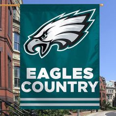 "Philadelphia Eagles WinCraft Country 27"" x 37"" Vertical Banner - $24.99"