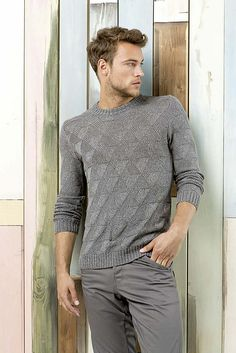 Ravelry: 218-026 Herrenpullover / Mens sweater pattern by Lang Yarns