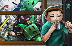 11x17 Minecraft Monsters by Musetap on Etsy, $9.99