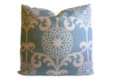 Modern Trellis Pillow Cover  Floral Pillow in by StitchedNestings, $45.00