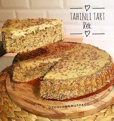 My dear ebrucum ( do I want a tahini tart cake or not? My dear ebrucum ( do I want a tahini tart cake or not? Pasta Cake, Turkish Recipes, Tahini, Cake Cookies, Chocolate Cake, Banana Bread, Tart, Cake Recipes, Food And Drink