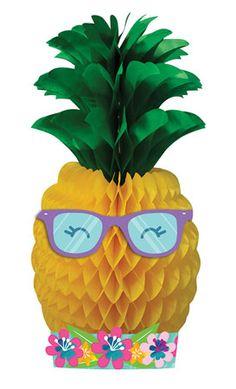 16 Aloha Pineapple N Friends Party Bundle 9 Plates 16 Napkins 32 7 Plates