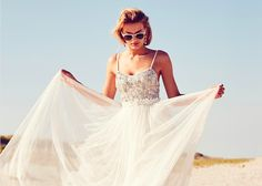Hey, Beach Brides, No Matter Your Style, We Have Your Wedding Dress   Glamour