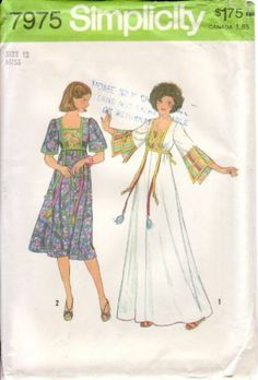 1970's Fashion - My  mom got this for me and we bought the material!