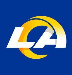 LA Rams New Primary Logo American Football, Football Team, Nfc West, La Rams, Chicago Cubs Logo, Logo Design, Logos, Sports, California