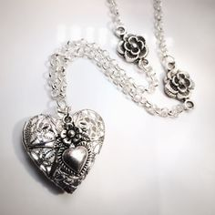 Roses are Red Antique Silver Essential Oil by OverYourHeart