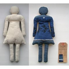 She Doll no10 by stiksel on Etsy, $25.00