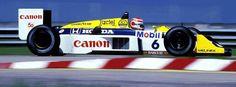 Nelson Piquet Williams FW11 1987