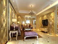 Aesthetic Beauty of Traditional Living Room Designs