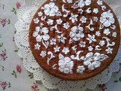 Orange & Cocoa cake