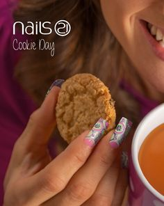 Cookie Day - 4th December: http://nails21.com/nailart/167     .      FACEBOOK: https://www.facebook.com/nails21.portugal INSTAGRAM: https://instagram.com/nails21official