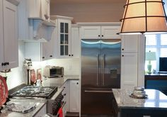 dca7a2b76 These high-end Amish made custom cabinets come with a wide variety of  colors and finishes