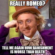 305c376f878c2400560f471a5ac8f869 romeo and juliet memes teaching romeo and juliet romeo and juliet character study,Romeo And Juliet Meme