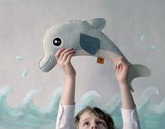 #handmade #dolfijn knuffel | Olmoost