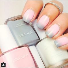 Ombre grey pink