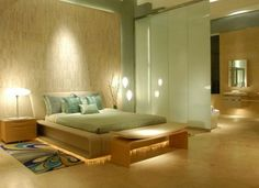 Zen Decorating Ideas for a Soft Bedroom Ambience Style Love the
