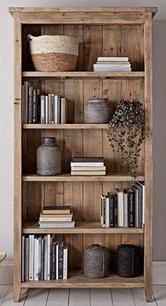 NEW Provence Tall Bookcase - Storage Furniture - Storage Furniture & Solutions Bookcase Styling, Bookshelf Design, Bookcase Storage, Bookcase In Living Room, Bookshelf Ideas, Decorating Bookshelves, Homemade Bookshelves, Diy Furniture Couch, Furniture Storage