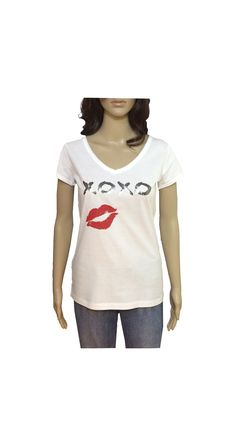 Camiseta XOXO #xoxo #beso #abrazos #camiseta #smartyfun