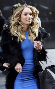 Candice Swanepoel  Street Style Chic