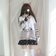 Come across styles hoodies for mothers of the period, modern hoodies compilation. We have gorgeous as well as cheap hoodies for girls in order to keep a person stylish. Pastel Goth Fashion, Lolita Fashion, Pastel Goth Clothes, Cute Fashion, Girl Fashion, Fashion Outfits, Petite Fashion, Trendy Fashion, Fashion Tips